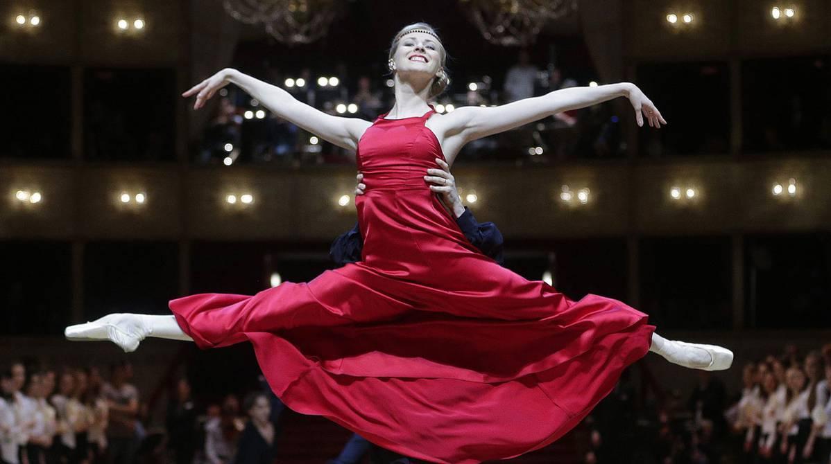 Un Ensayo De El Baile De La ópera En Viena Cultura Entretenimiento El Universo