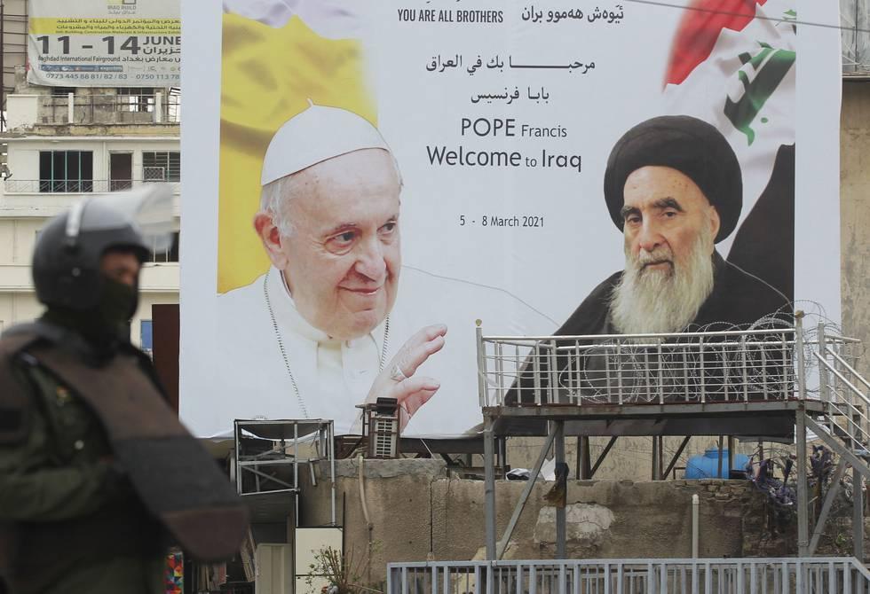 Papa Francisco llega a Irak para abogar por la paz y la fraternidad con el  islam | Internacional | Noticias | El Universo
